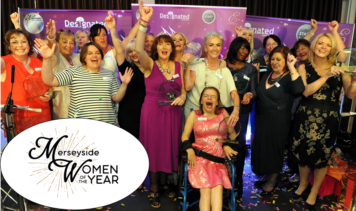 Courage and Sparkle Sponsorship of Merseyside Women of the Year Awards 2019