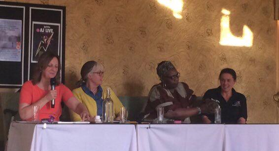 Chairing the 'Miss Diagnosis' Panel Event, Disability Stockport 40th Anniversary Festival 2019