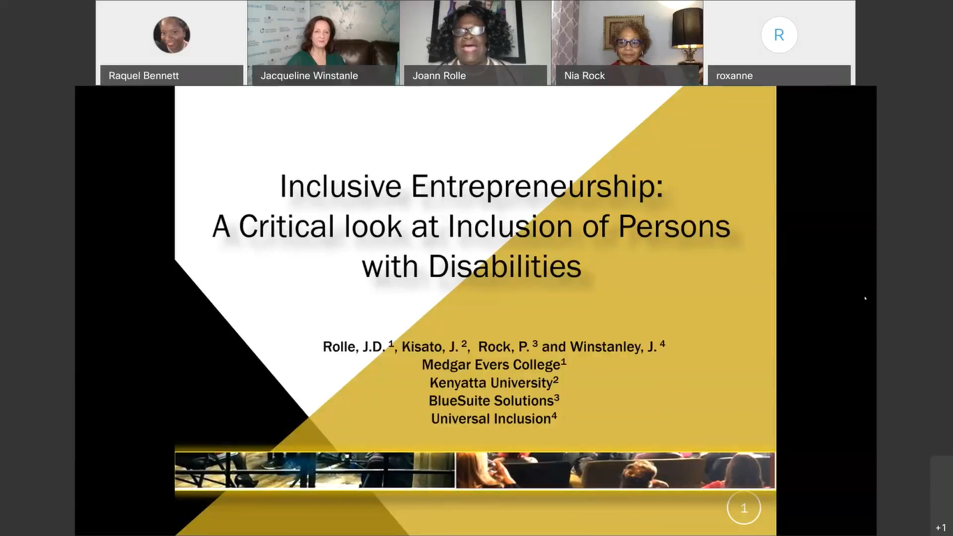 Universal Inclusion ICGC Conference April 2021